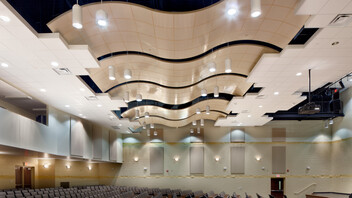 Rockfon® CurvGrid™ Two-directional Curved Ceiling System